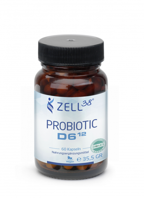Zell38 Probiotic D6 - 2 Monats-Packung