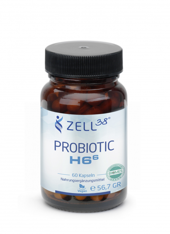 Zell38 Probiotic H6 - 2 Monats-Packung